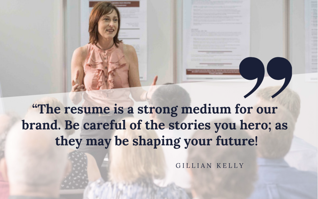 Your resume is your PITCH – not your story